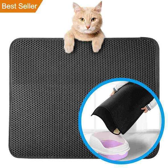 Cat Litter Mat-Double Layer - WikiWii