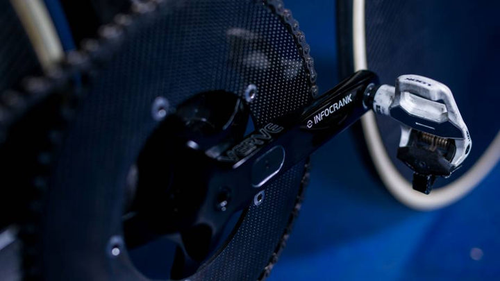 Britain Cycling Team will race with the new Verve Track InfoCrank at 2018 UCI Track Cycling World Championships