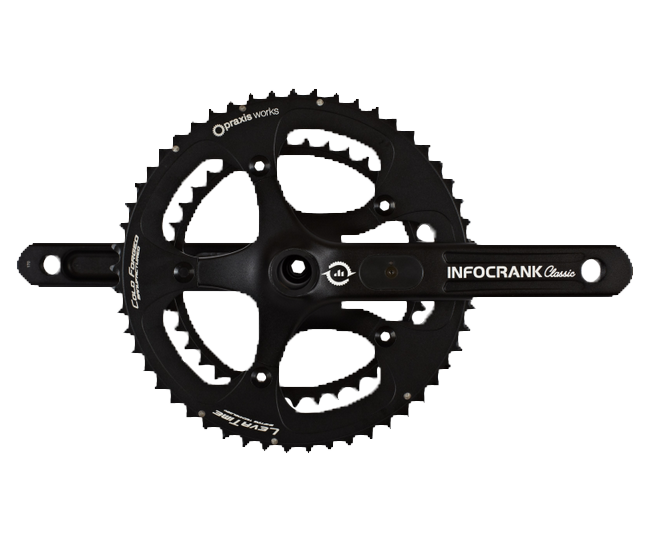 InfoCrank Classic, 24mm Spindle, 110 BCD