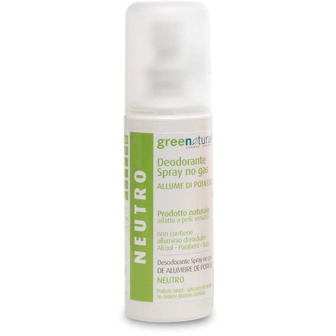 Deodorante Spray Neutro GreeNatural - BellaNaturale