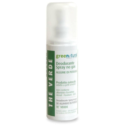 Deodorante Spray The Verde  GreeNatural - BellaNaturale