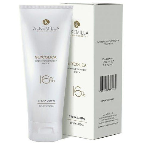 Crema Corpo 16% Glycolica Alkemilla - BellaNaturale