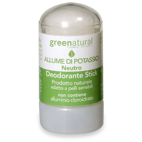 Deodorante Allume di Potassio GreeNatural - BellaNaturale