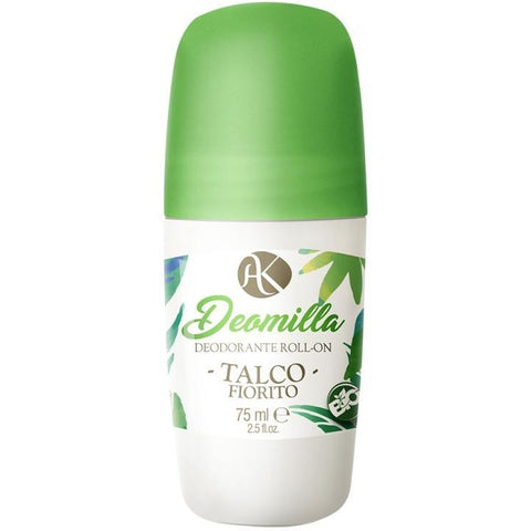 Deodorante Roll-on Bio Talco Fiorito Alkemilla
