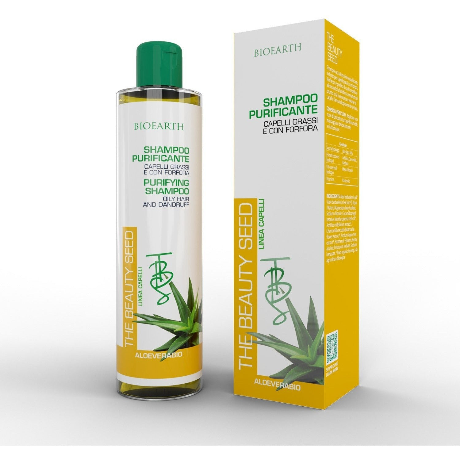 Shampoo Purificante Bioearth - BellaNaturale Bioprofumeria
