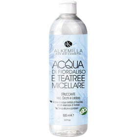 Acqua Micellare di Fiordaliso e Tea Tree Alkemilla - BellaNaturale Bioprofumeria