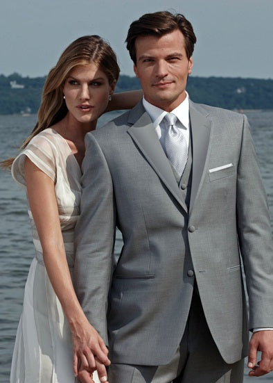 Royal Tuxedos - Perry Ellis - Light Grey Madison