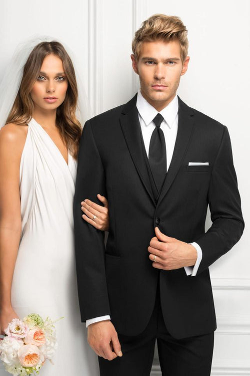 Jim's Formal Wear - 471 - ULTRA SLIM STERLING WEDDING SUIT
