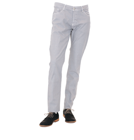 A light grey summer cotton pant