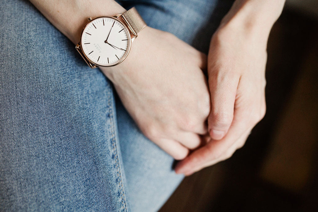 Aubry Vegan Mesh Watch 1