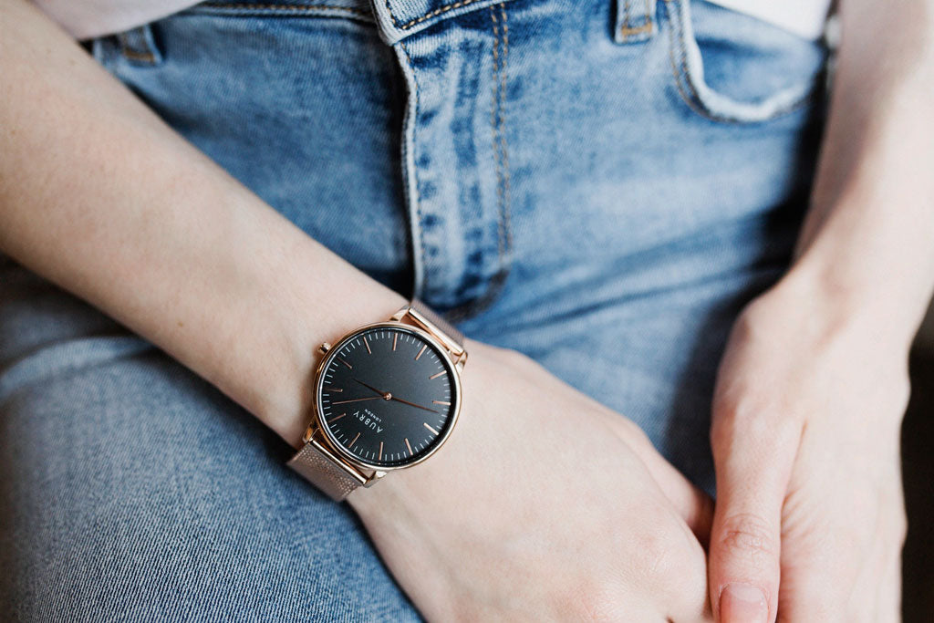Aubry Vegan Mesh Watch 3