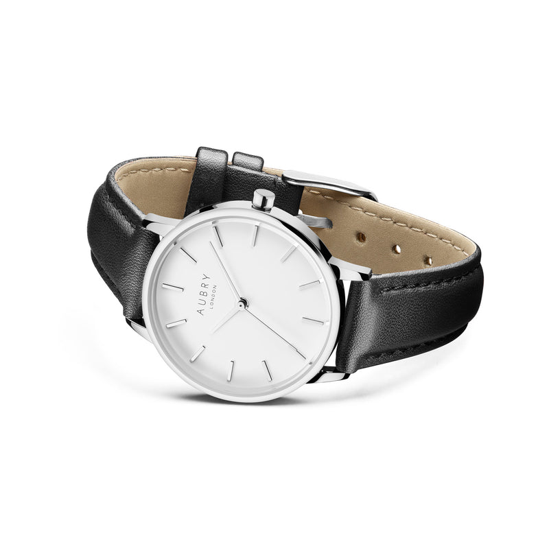 Aubry Vegan Leather Watch AL33013 Side
