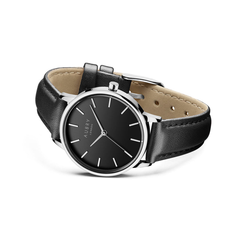 Aubry Vegan Leather Watch AL33014 Side