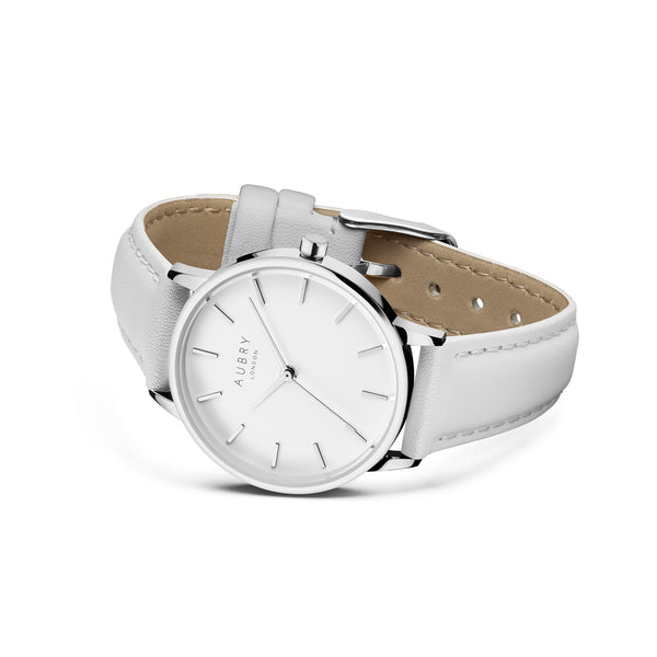 Aubry Vegan Leather Watch AL33017 Side