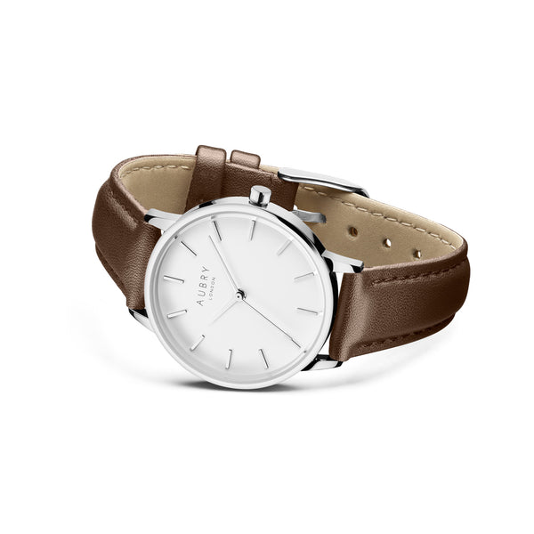 Aubry Vegan Leather Watch AL33023 Side