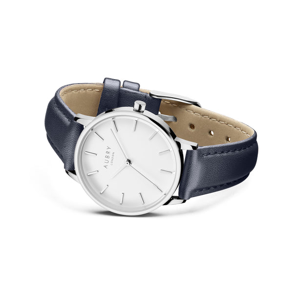 Aubry Vegan Leather Watch AL33026 Side