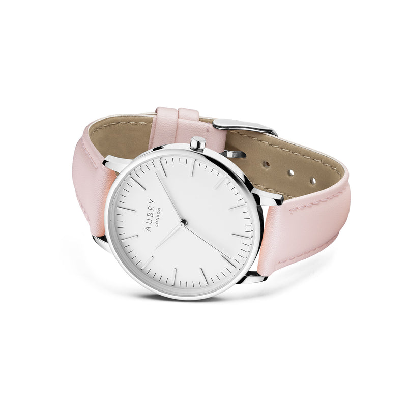 Aubry Vegan Leather Watch AL38020 Side