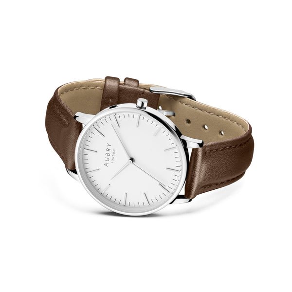 Aubry Vegan Leather Watch AL38023 Side