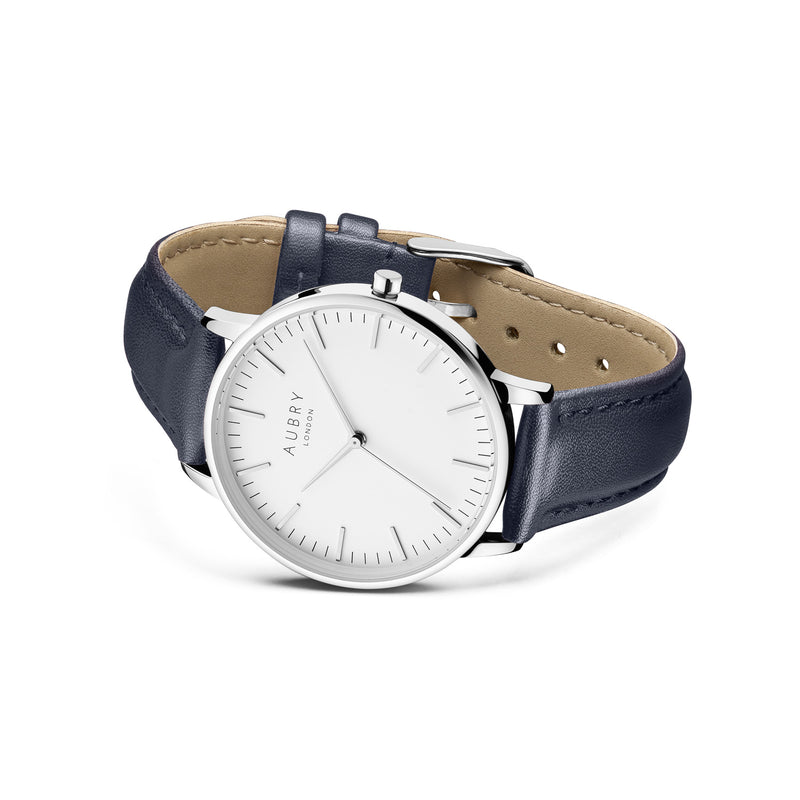 Aubry Vegan Leather Watch AL38026 Side