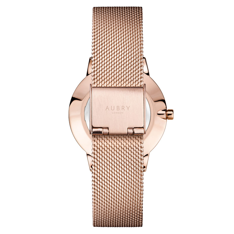 Aubry Vegan Watch AL33002 Back