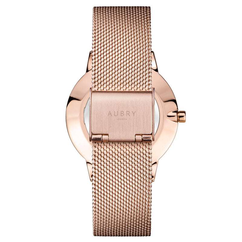 Aubry Vegan Watch AL38003 Back