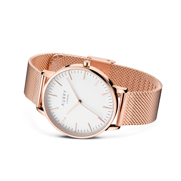 Aubry Vegan Watch AL38002 Side