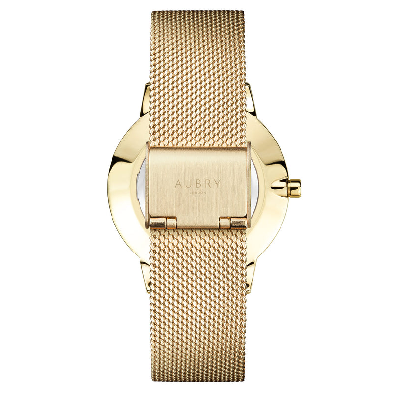 Aubry Vegan Watch AL38005 Back