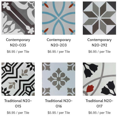 Handmade Cement Tiles – Tagged