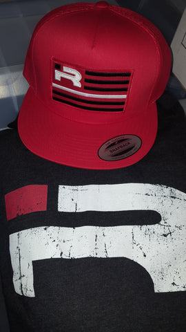 Red flag Snapback