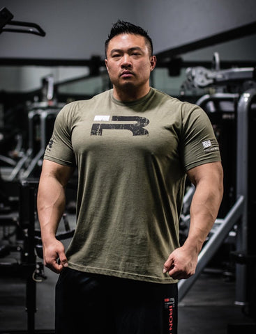 Ready For War - Shirt (Army Green)
