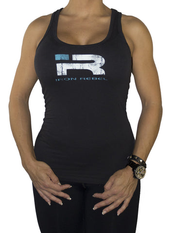 "Womens ""Forged"" Tank - Black"