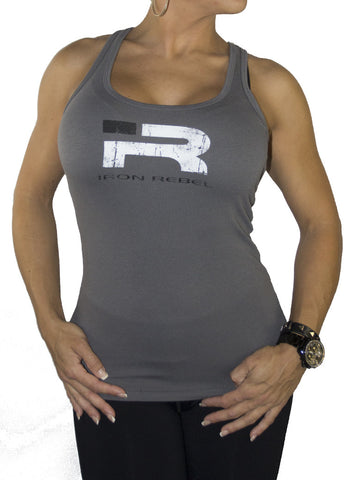 "Womens ""Forged"" Tank - Grey"