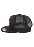 REBEL FLAG - Trucker (All Black)