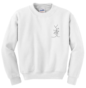 MAKE OUT 4EVER CREWNECK SWEATER