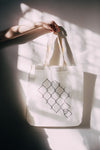 CHAIN LINK CANVAS BAG