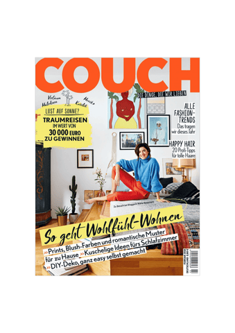 xouxou in the COUCH MAGAZINE