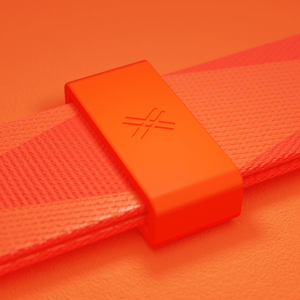 Neon Orange Silicone Case + Lanyard