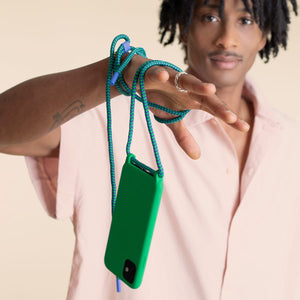Yves Green Silicone Case + Rope