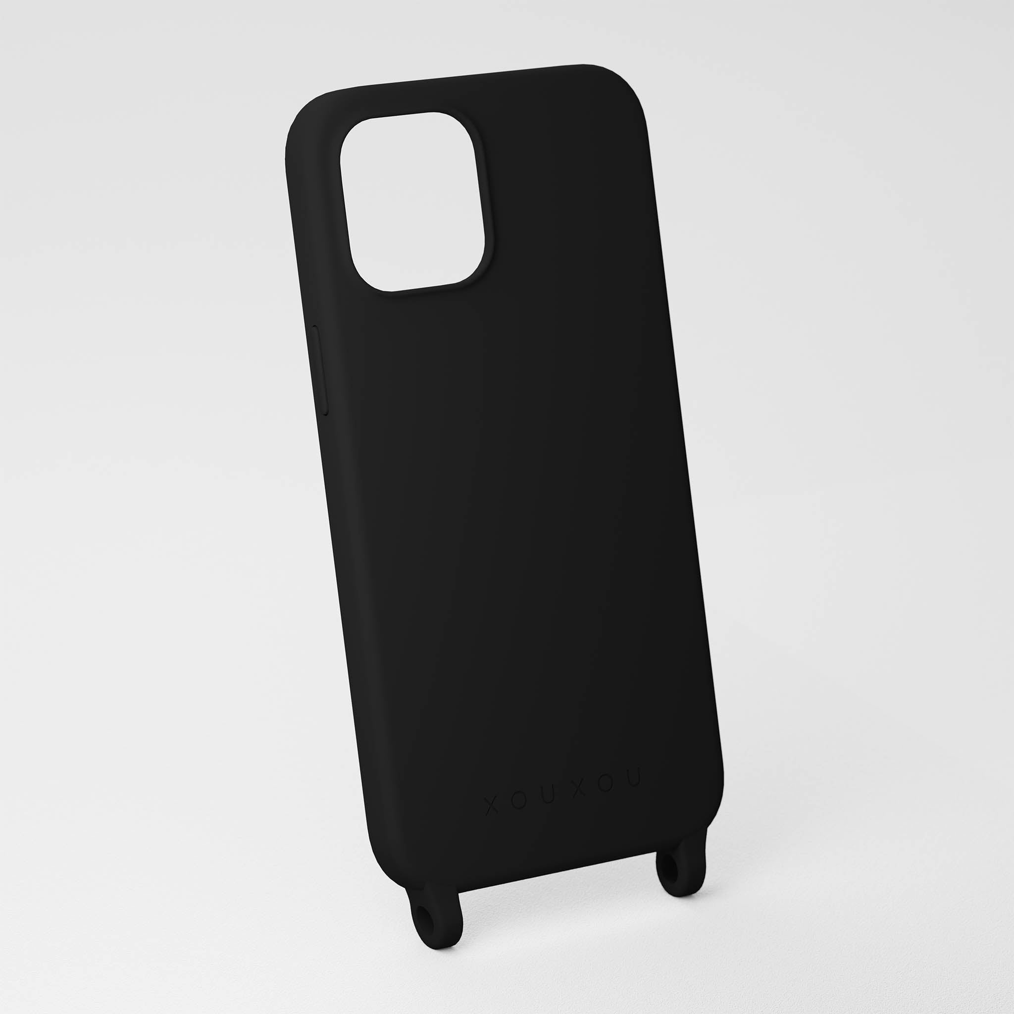 Black Silicone Case