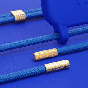 Blue Silicone + Rope