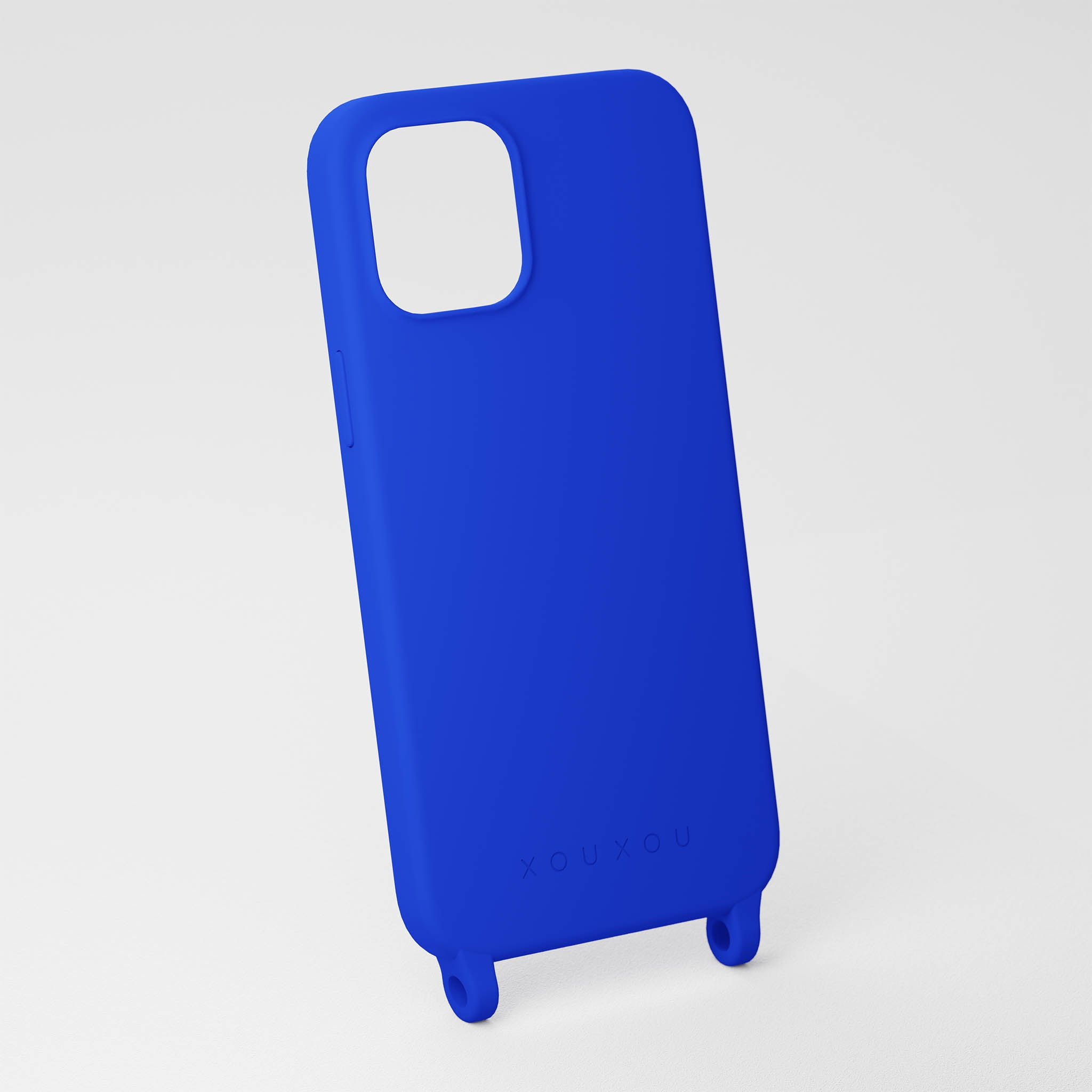 Blue Silicone Case
