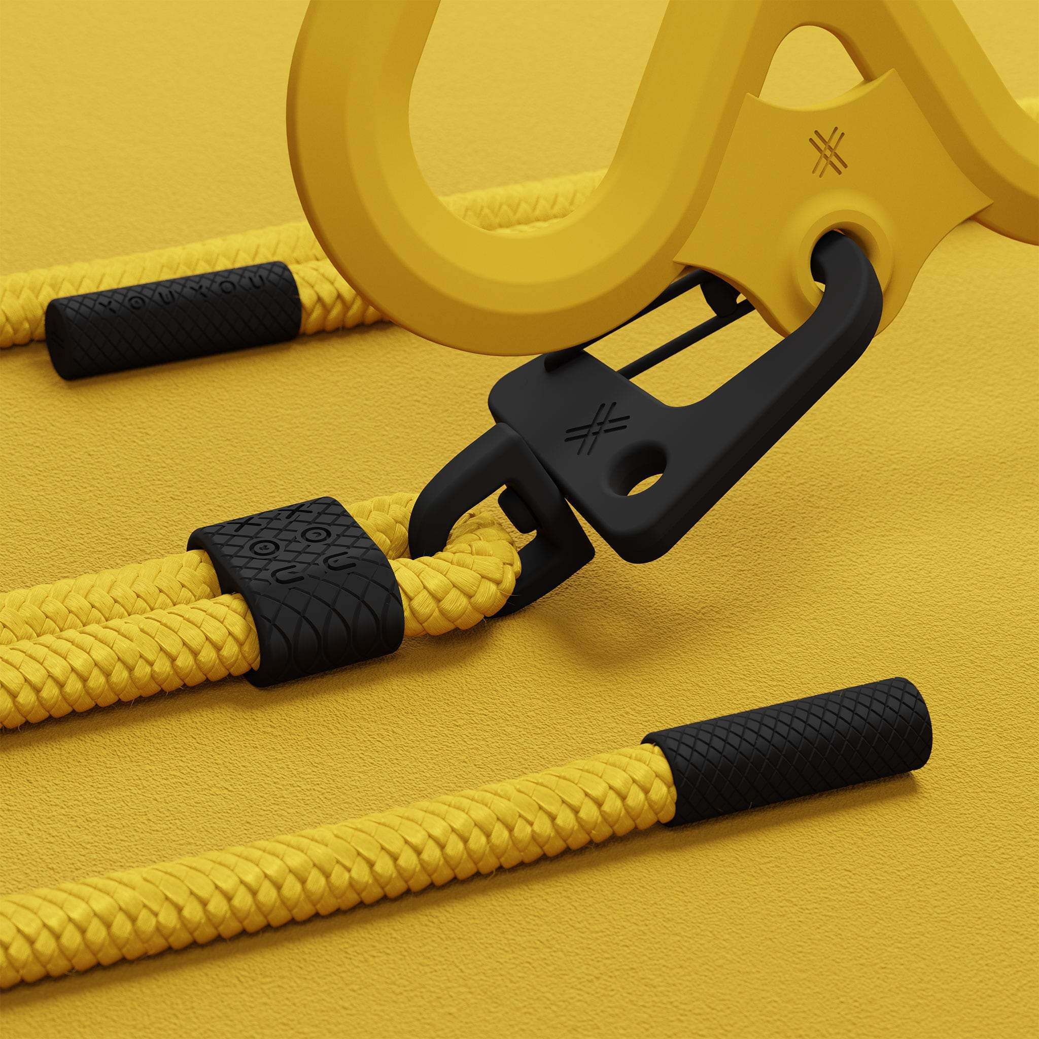 Caramel Silicone X + Carabiner Rope