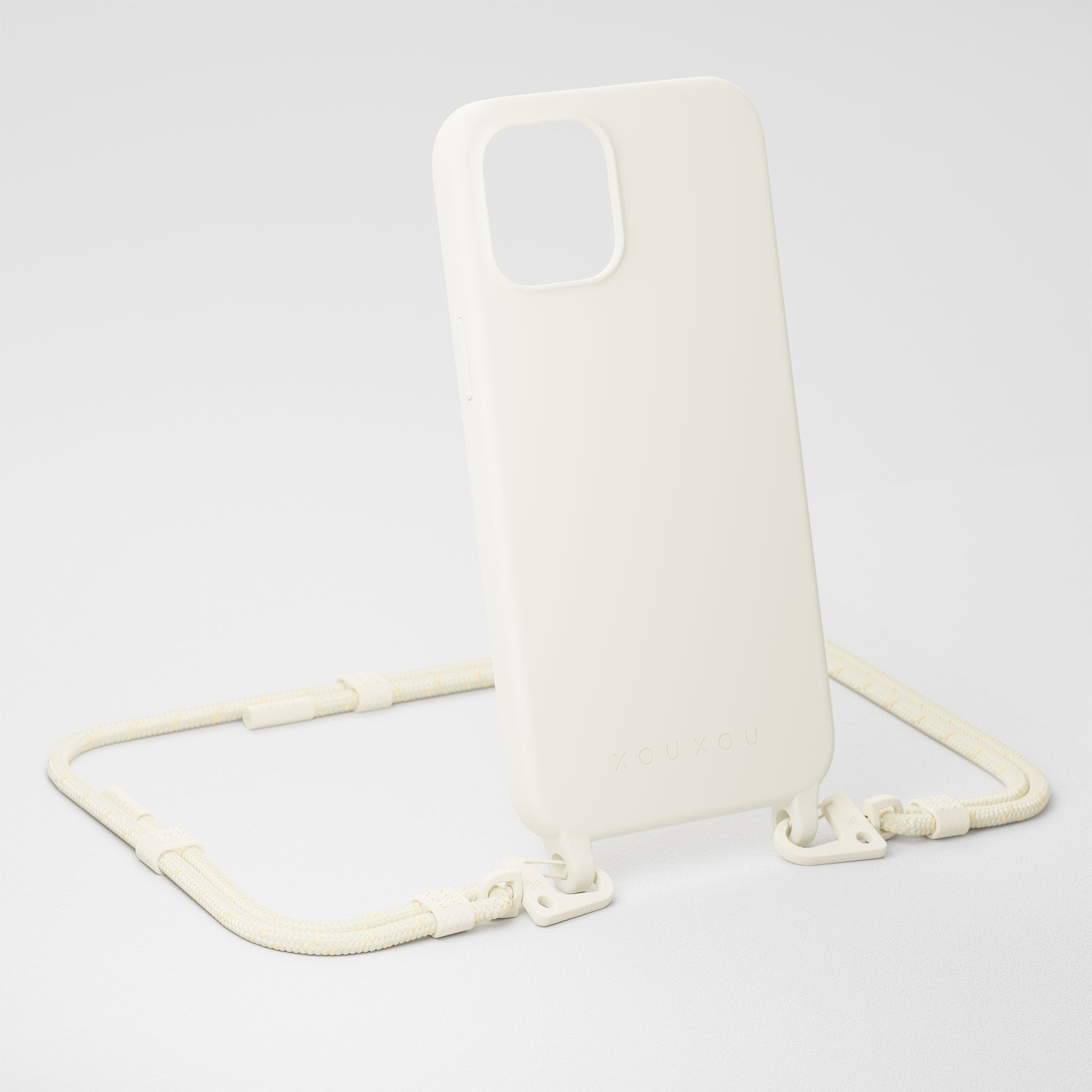 Chalk Silicone Case + Carabiner Rope