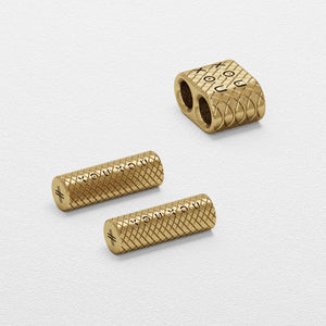 Matt Gold Modular Rope Metal Parts