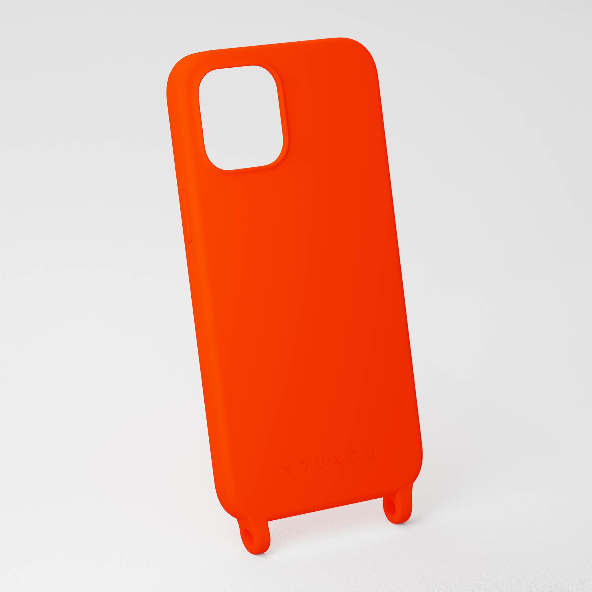 Neon Orange Silicone Case