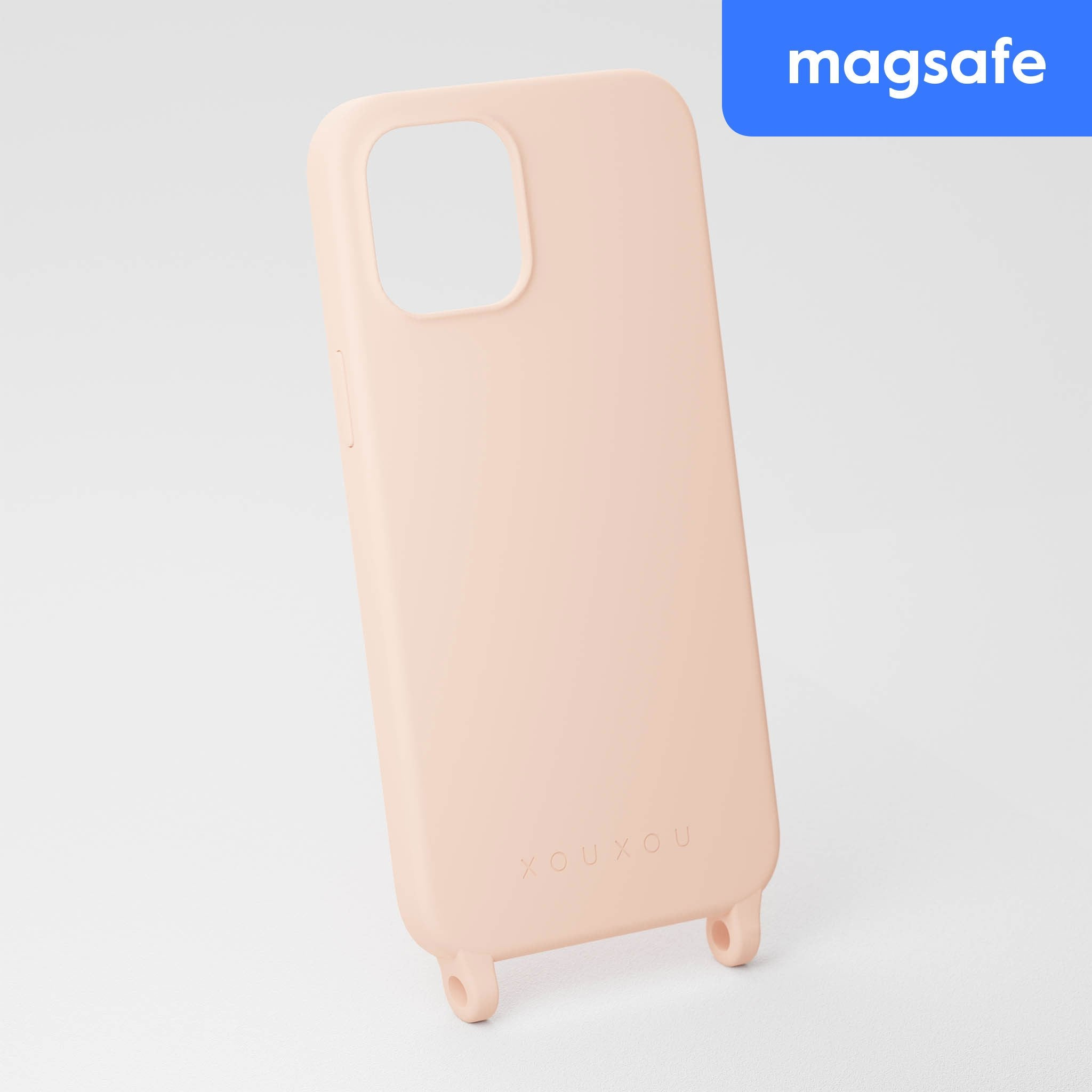 Powder Pink Silicone Case with MagSafe