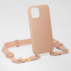 Powder Pink Silicone Case + Lanyard