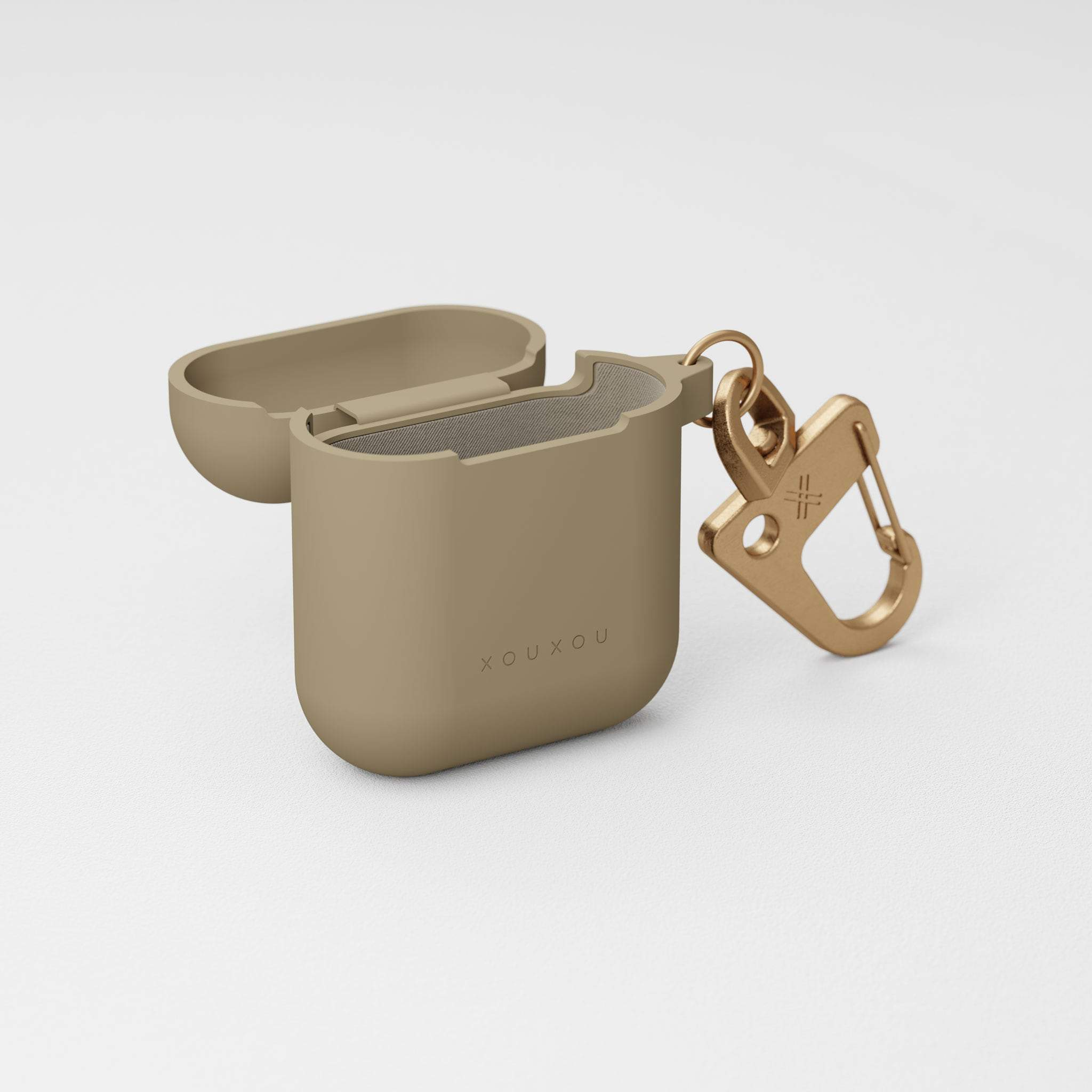 Taupe Silicone AirPods Case