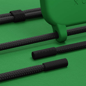 Yves Green Silicone Case + Black Rope