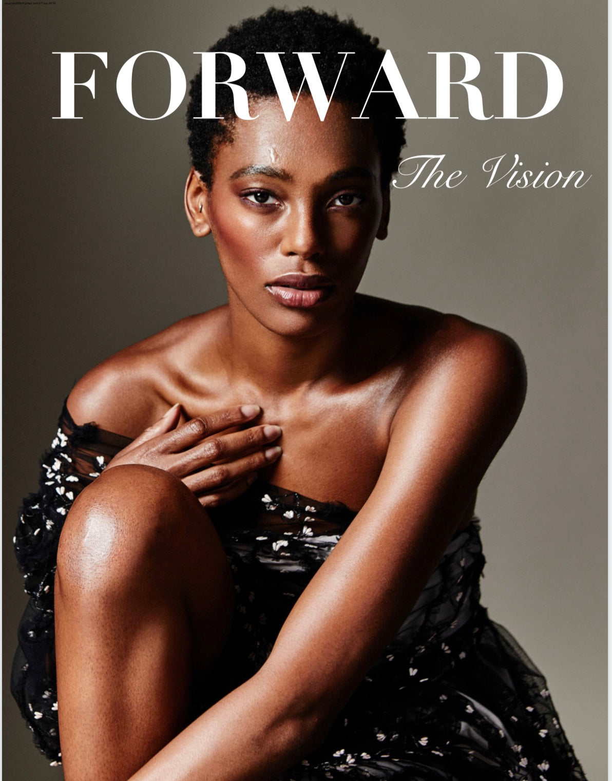 LUXFINDZ featured in Forward Fashion Toronto Spring/Summer Magazine
